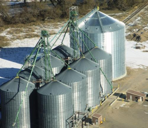 grain storage facility project